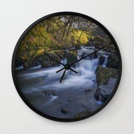 Nant Ffrancon Pass River Wall Clock