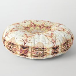 Mandalas from the Voice of Eternity 9 Floor Pillow