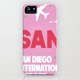 SAN San Diego airport code 1 iPhone Case