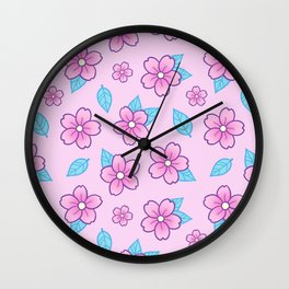 Sakura // Pink Wall Clock