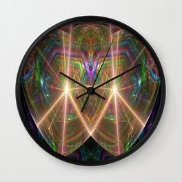 2 Hearts Wall Clock