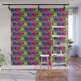Colourful Sheep Wall Mural