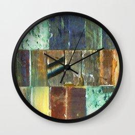Strip Search Detail #1 Wall Clock