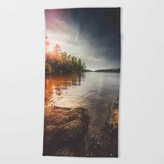 Peekaboo Beach Towel