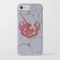 gundam iPhone & iPod Cases featuring Gundam Amuro Ray Custom Case by Kenjken