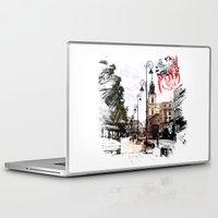 poland Laptop & iPad Skins featuring Poland - Krawkowskie Przedmiescie, Warsaw by viva la revolucion