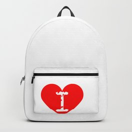 I Heart Atlas | Love Atlas Backpack
