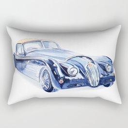Watercolor Retro car Rectangular Pillow