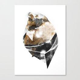 broken creature Canvas Print
