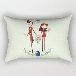 Wouffle Christmas Rectangular Pillow