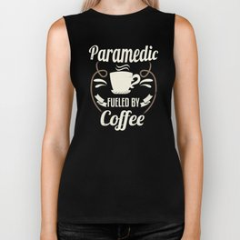 Paramedic Fueled By Coffee Biker Tank