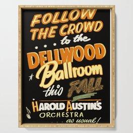 Dellwood Ballroom Serving Tray