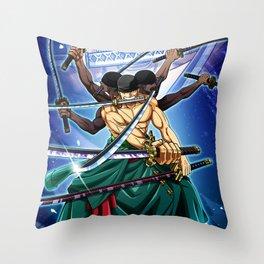 Zoro - one piece Throw Pillow