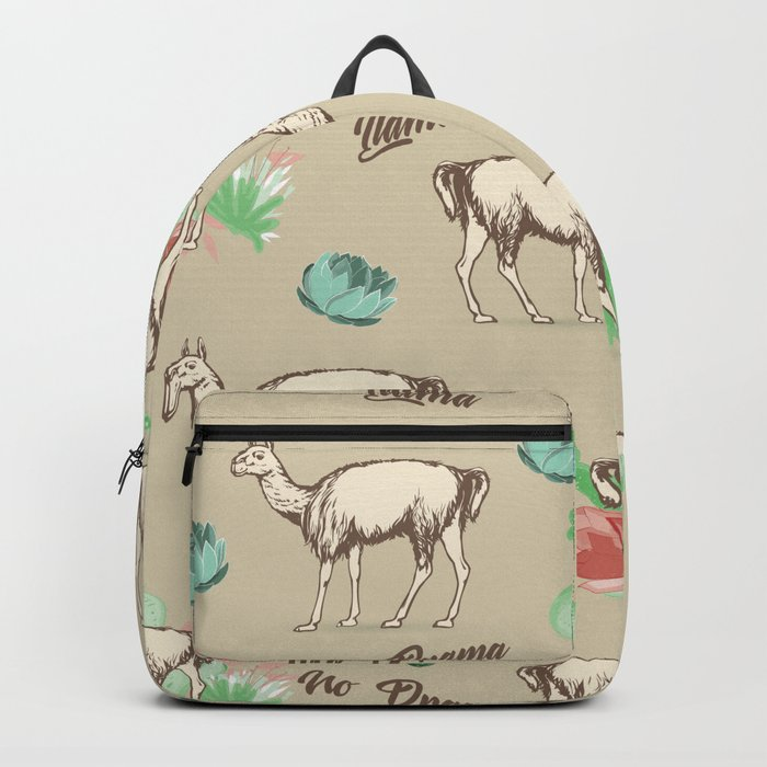 No Drama Llama Backpack
