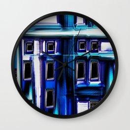 Blues City by Jeanpaul Ferro Wall Clock