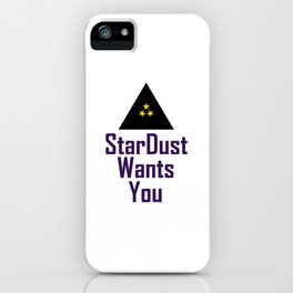 StarDust Wants You iPhone Case
