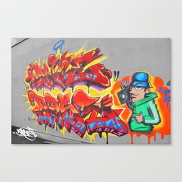 Old Skool Canvas Print