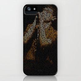 Ian Curtis : Unknown Pleasures iPhone Case