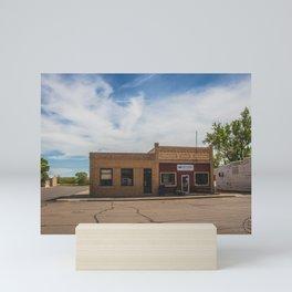 Main Street, Golden Valley, North Dakota 9 Mini Art Print