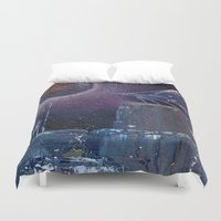 saga Duvet Covers featuring space saga (Small Space 19) by TwinEnigmaDesign