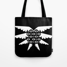 Floating Ball of Eyes Tote Bag