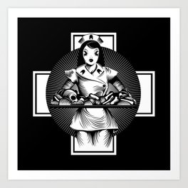 Nurse Art Print