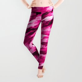 Designer Camo in Hot Pink Leggings
