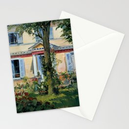 """Édouard Manet """"House in Rueil"""" Stationery Cards"""