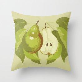 Bartlett Pear Throw Pillow