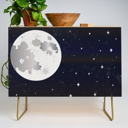 GIVE ME SOME SPACE Credenza