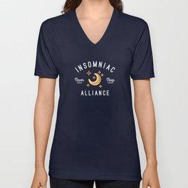 Insomniac Alliance Unisex V-Neck