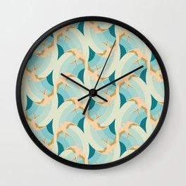 Flying Birds Wall Clock