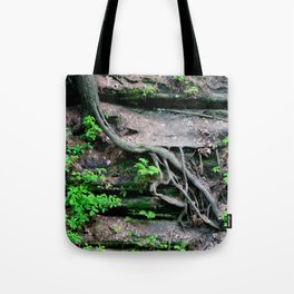 root growth. Tote Bag