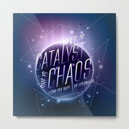 Catalyst Metal Print