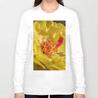 moss Long Sleeve T-shirts featuring Moss Rose by IowaShots