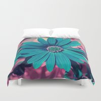 strong Duvet Covers featuring Strong by J's Corner