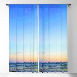 Beach Sunset Blackout Curtain