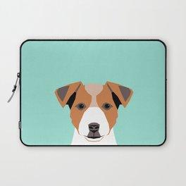 Bailey - Jack Russell Terrier phone case art print gift for dog people Jack Russell Terrier owners Laptop Sleeve