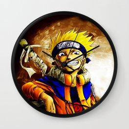 cute naruto Wall Clock