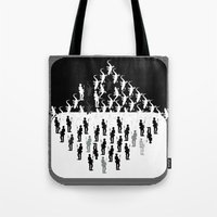 evolution Tote Bags featuring Evolution by Design4u Studio
