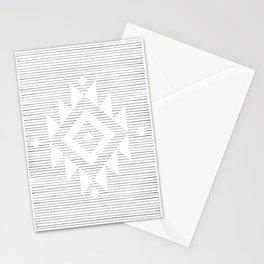 Line art folk pattern Stationery Cards