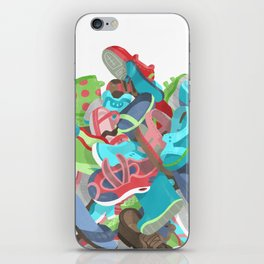 Tons of Shoes iPhone Skin