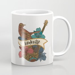Nashville guitar Coffee Mug