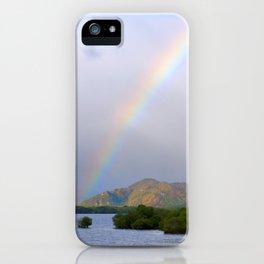 Killarney Lakes Rainbow iPhone Case