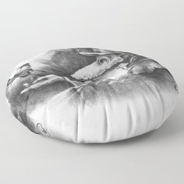 The Resilience of Life Floor Pillow