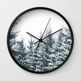 In Winter Wall Clock
