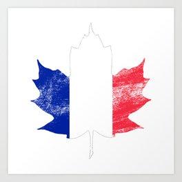 France/Canada Art Print