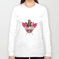 kris tate Long Sleeve T-shirts featuring Malia Tate by Papa-Paparazzi