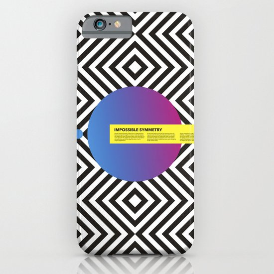 Impossible Symmetry - Circle iPhone & iPod Case