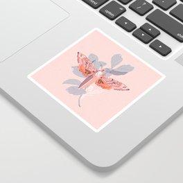 Death's Head Moth Print Sticker
